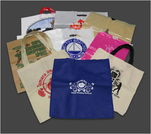 Stock and Custom Plastic and Paper Bags