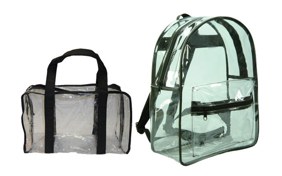 Airport Employee Clear Security Bags