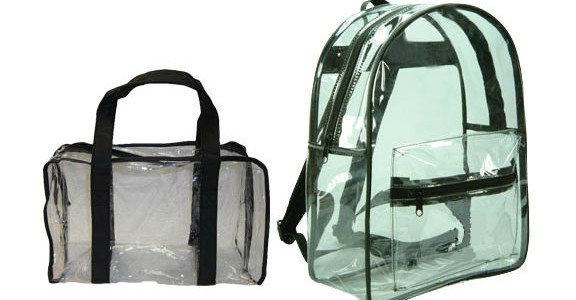 Clear Purse and Backpack